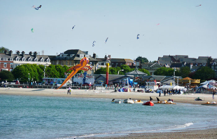 Kite Festival at Weymouth near Holiday Cottage