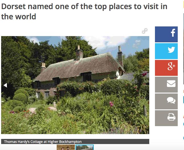 Dorset Echo -Worlds Best Place to Visit