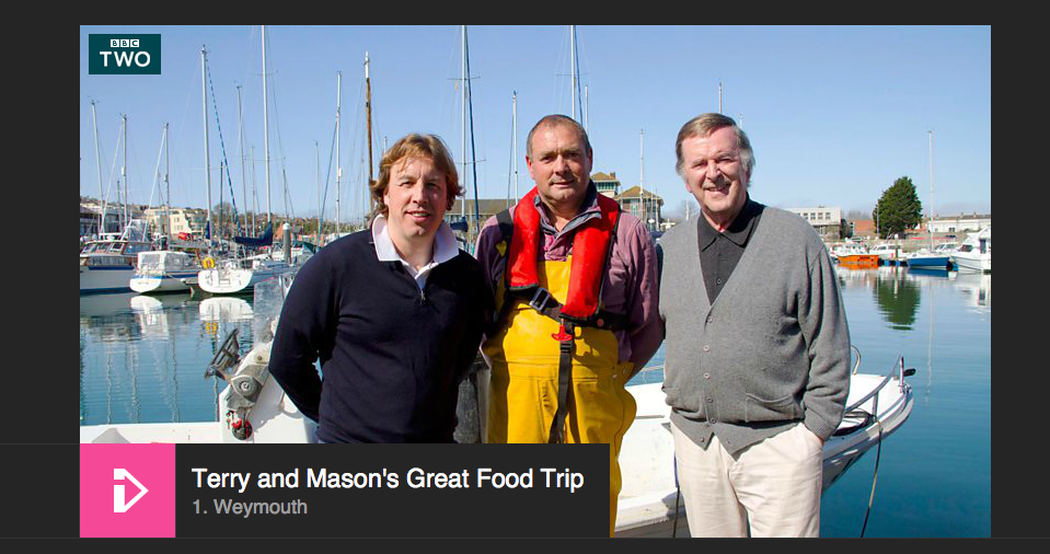 Terry Wogan in Weymouth