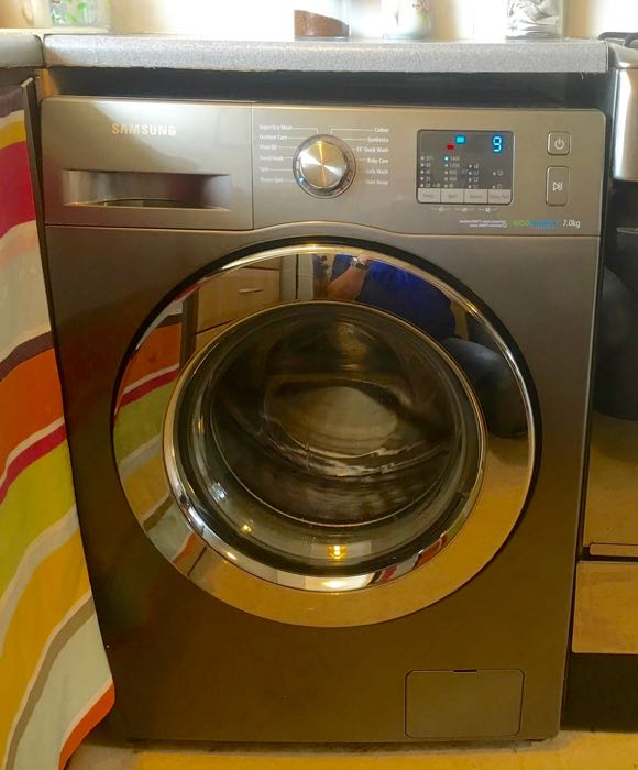 New washing machine for the cottage