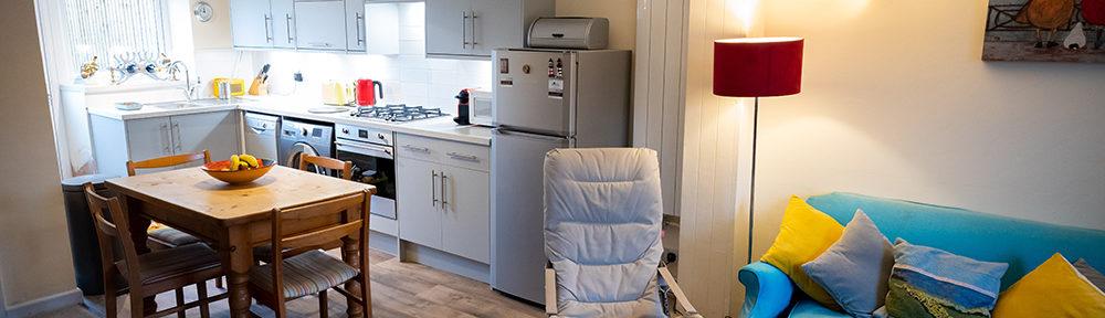 New kitchen at cottage
